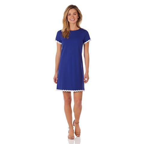 Jude Connally Ella RicRac Ponte T-Shirt Dress