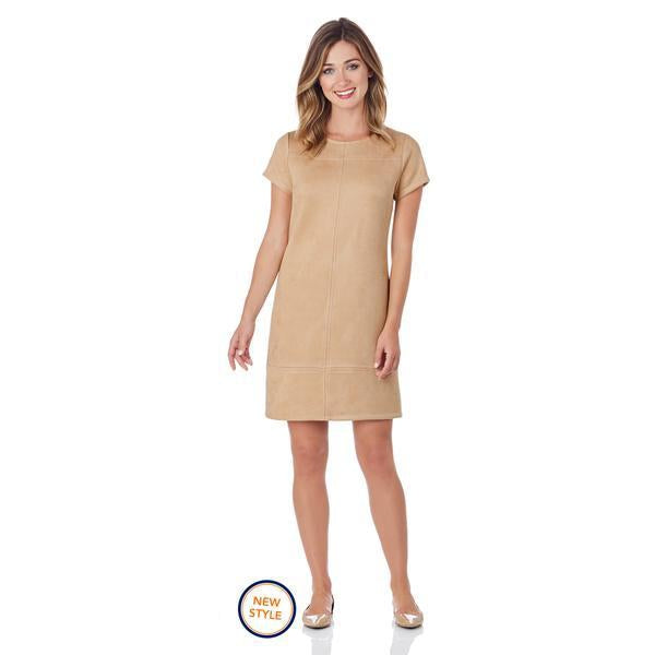Jude Connally Kayla Faux Suede Dress