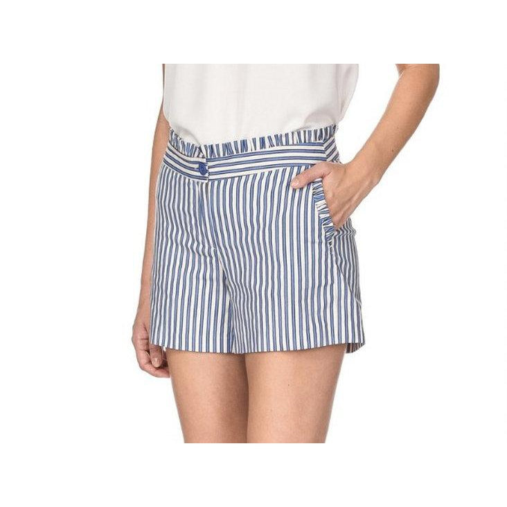 Jade - Blue Stripe Shorts