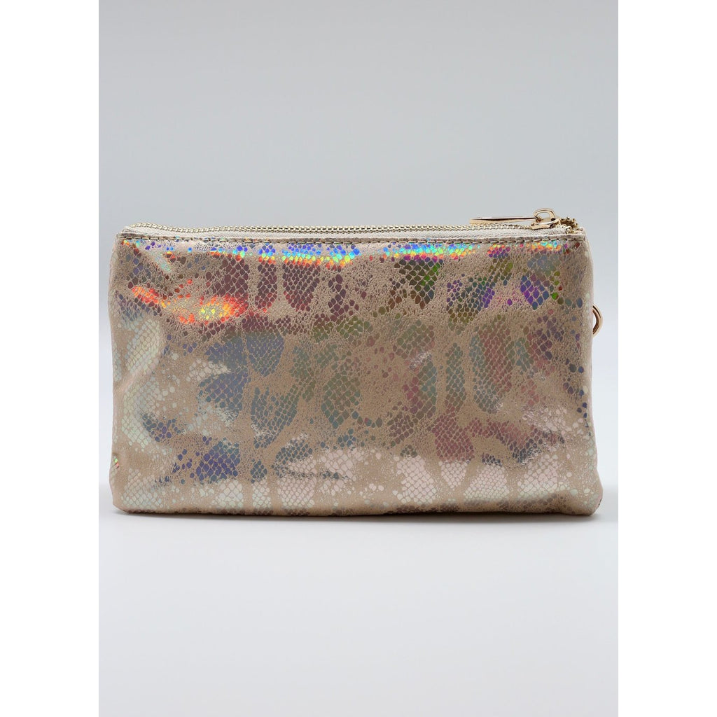 Crossbody - Beige Hologram