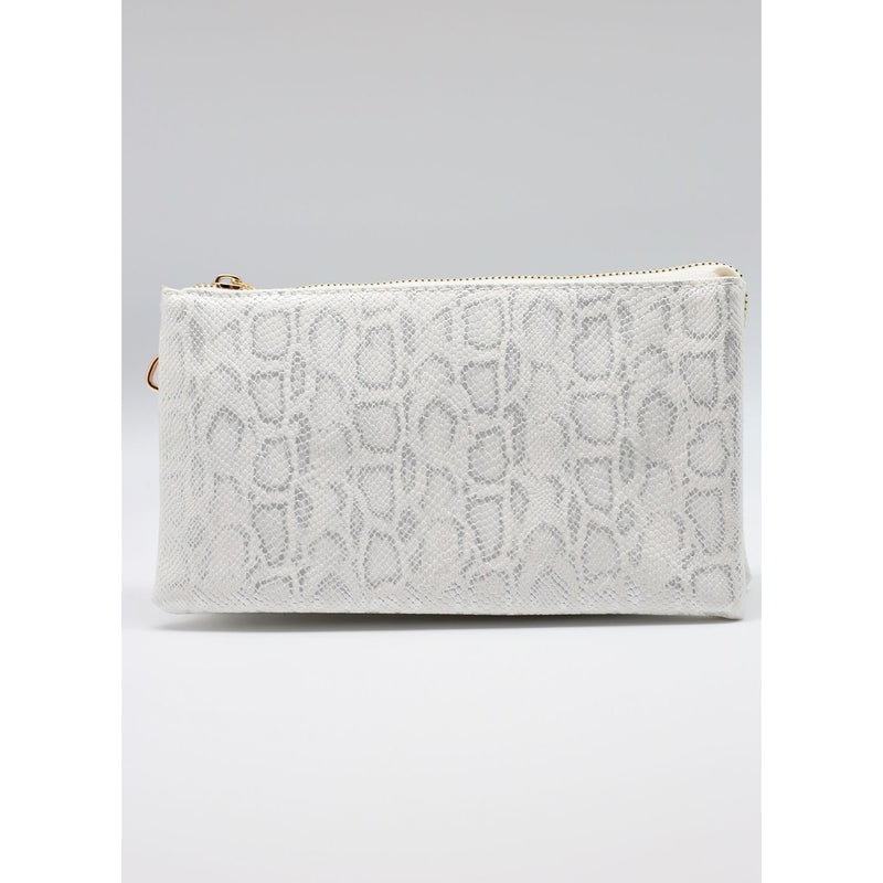 Crossbody - Shimmer White