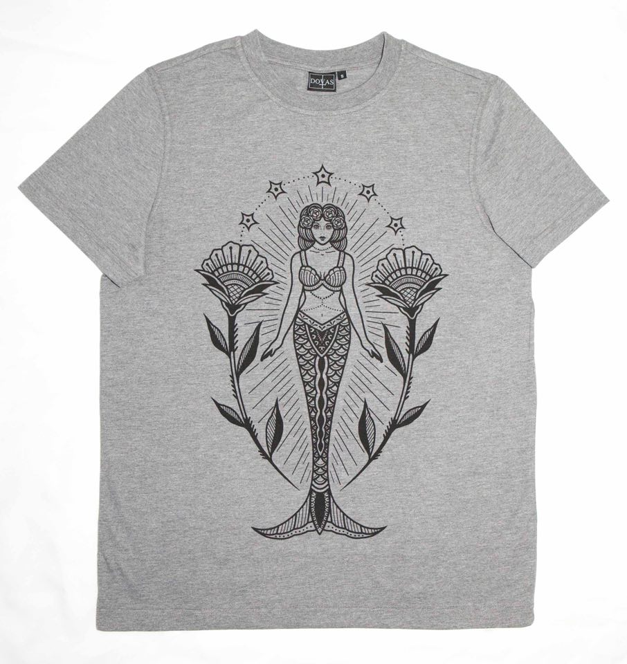 DOVAS DESIGN MERMAID TSHIRT