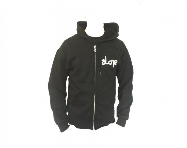 ALONE LOGO ZIPPER