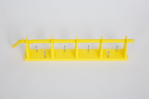 4-Bay Wall Mount