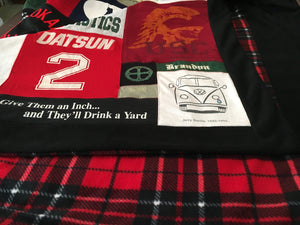 T-shirt quilts for the average Christmas shopper!
