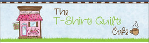 T-Shirt Quilt Cafe ~ sewing studio