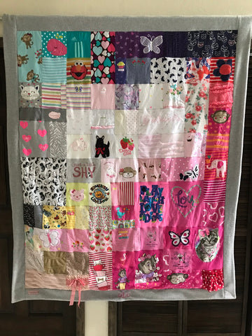 Baby Blanket - Medium (64 onesies/tees)