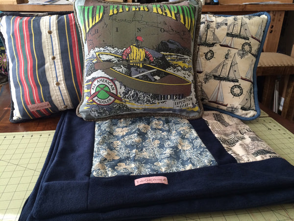 T-Shirt Pillows and Shams