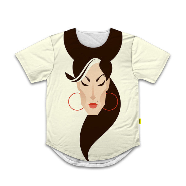 Amy Scoop Tee - Stanley Chow Collection
