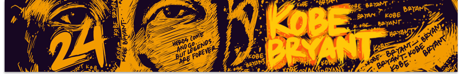 The Kobe Bryant Collection by Yoshirt