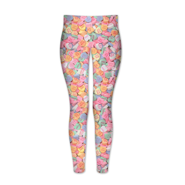 Candy Heart Leggings