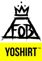 Fall Out Boy x Yoshirt Wintour 2016 Tour Merch