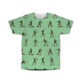 Polka What - Men's Tshirt - Battlefront Green