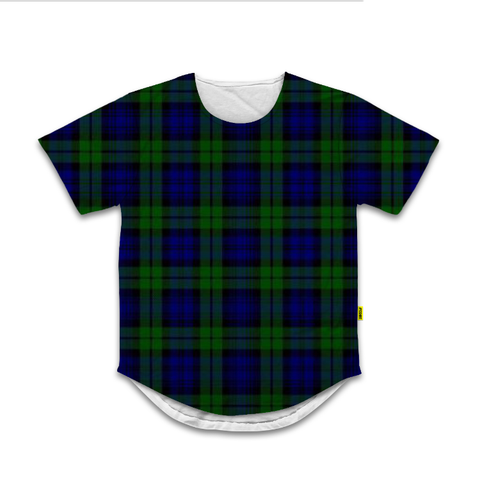 Black Watch - Scoop Neck Tshirt - Plaid