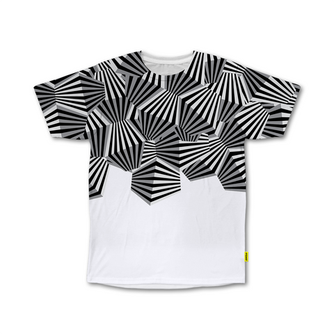 Optical Illusions - Crew Tshirt -  Cluster Flakes