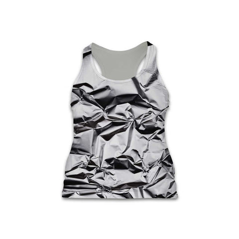 Foil - Women's Performance Tank - Textures