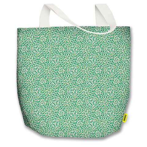 St. Patrick's Day - Tote Bag - Green Leaves