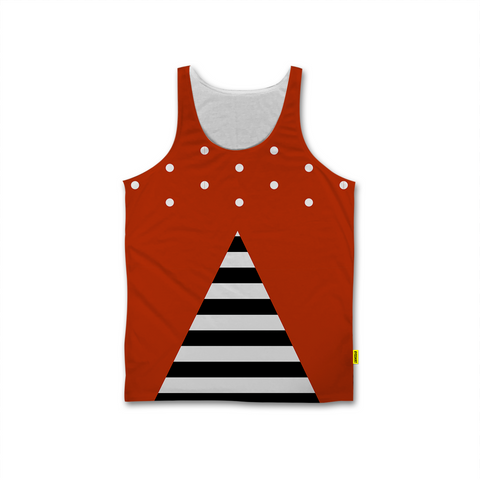 Optical Illusions - Men's Tank - Stripes 'n Dots