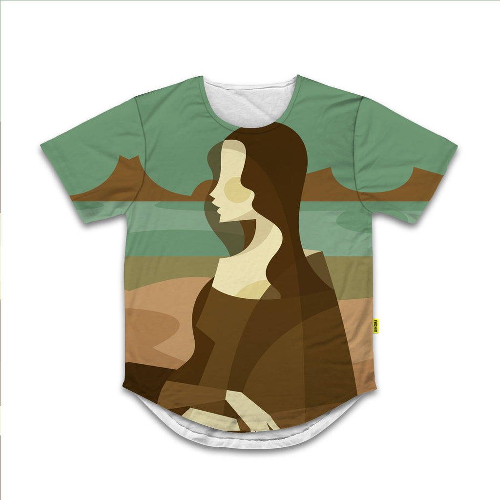 Mona Lisa - Scoop Neck Tee - Stanley Chow