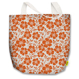 Florals - Tote Bag - Orange Flowers