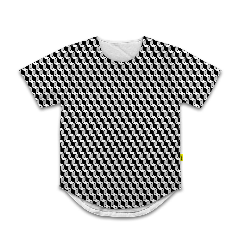 Optical Illusions - Scoop Tshirt -  Rubix