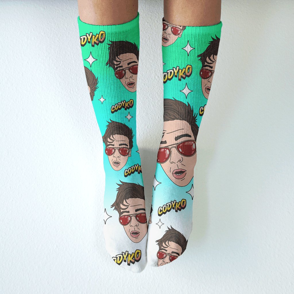 For the Vine - Mid-Rise Socks - Cody Ko
