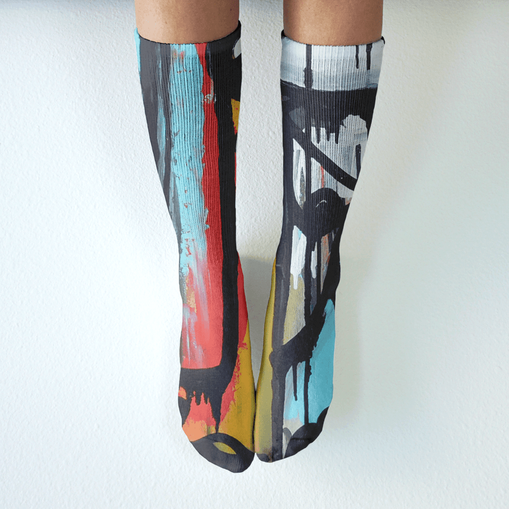Break Me Free - Mid-Rise Socks - Ali Sabet