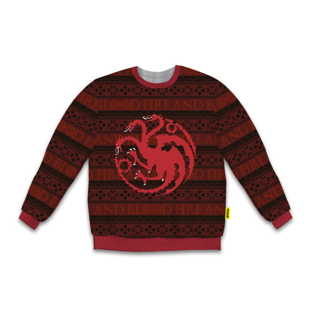 Fire and Blood - Crew Sweatshirt