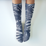 To Dye For - Mid-Rise Socks