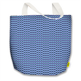 Optical Illusions - Tote Bag - Purple Drips