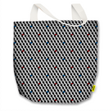 Optical Illusions - Tote Bag - Red Rubix