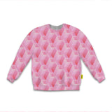 Optical Illusions - Sweatshirt - Pink Tunnels