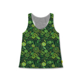 St. Patrick's Day - Women's Racerback Tank - Green Flowers