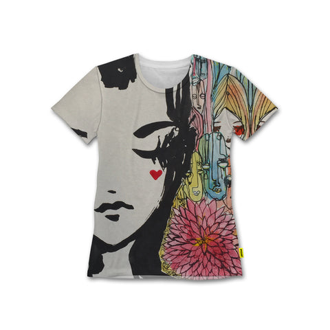 Our Love - Women's Crew Tshirt - Ali Sabet x Yoshirt