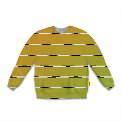 Optical Illusions - Sweatshirt - Orange Lines
