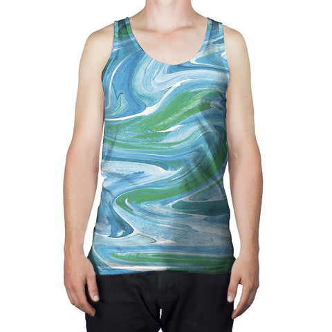 Melted Ice Cream - Men's Tank - Yoshirt Collection
