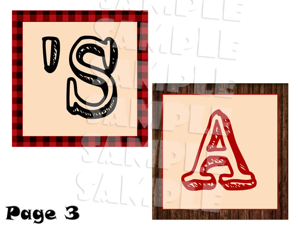 Printable Firetruck Birthday Party Banner (Digital Files Only) - Forever Fab Boutique - 4