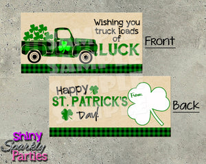 St. Patrick's Day Treat Bag Toppers - Instant Download