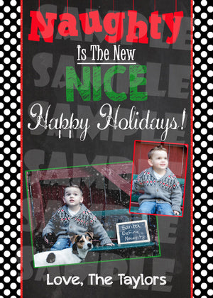 Christmas Photo Card - Holiday Card (Digital File Only)-Digital Download, Printable File-Forever Fab Boutique