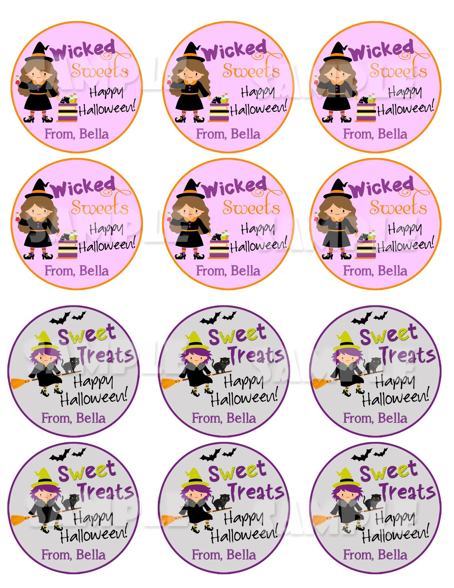 halloween labels halloween tags forever fab boutique