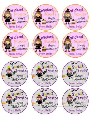 Halloween Labels - Halloween Tags - Printable