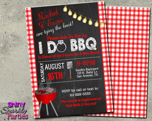 I Do BBQ Engagement Party Invitation - Printable (Digital File Only)-Digital Download, Printable File, Invitation-Forever Fab Boutique