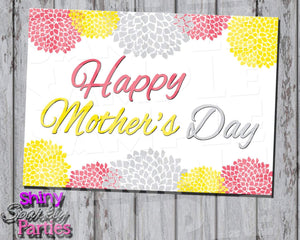 Printable Flowered Mother's Day Card (Digital File Only) - Forever Fab Boutique - 1