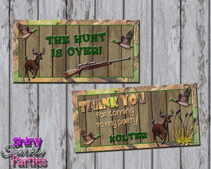 Printable Camo Hunting Treat Bag Toppers (Digital File Only)-Digital Download-Forever Fab Boutique