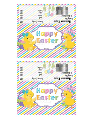 Printable Easter Candy Bar Wrappers (Digital File Only)-Forever Fab Boutique