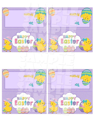 Printable Easter Treat Bag Toppers (Digital File Only)-Forever Fab Boutique