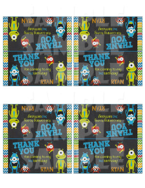 Printable Little Monster Party Package (Digital Files Only)-Digital Download,Printable Files-Forever Fab Boutique
