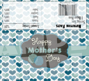 Printable Mother's Day Candy Bar Wrappers (Digital File Only)-Digital Download,Printable File-Forever Fab Boutique