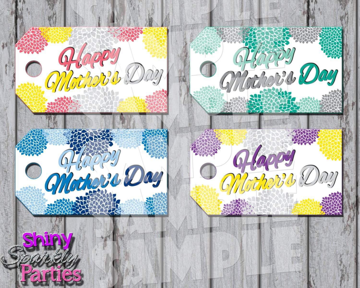 image about Mother's Day Tags Printable identify Moms Working day Reward Tags