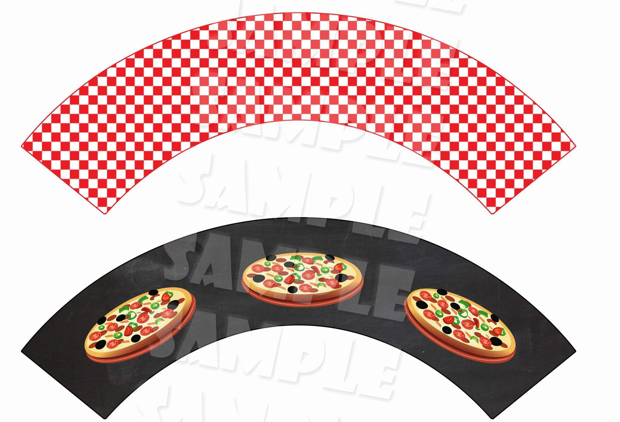 image relating to Printable Pizza named Pizza Occasion Birthday Package deal